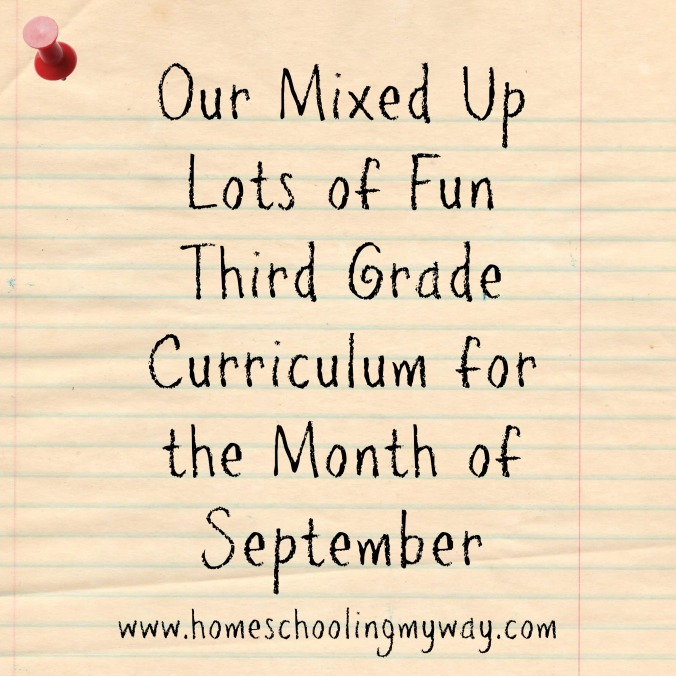 home school curriculum third grade