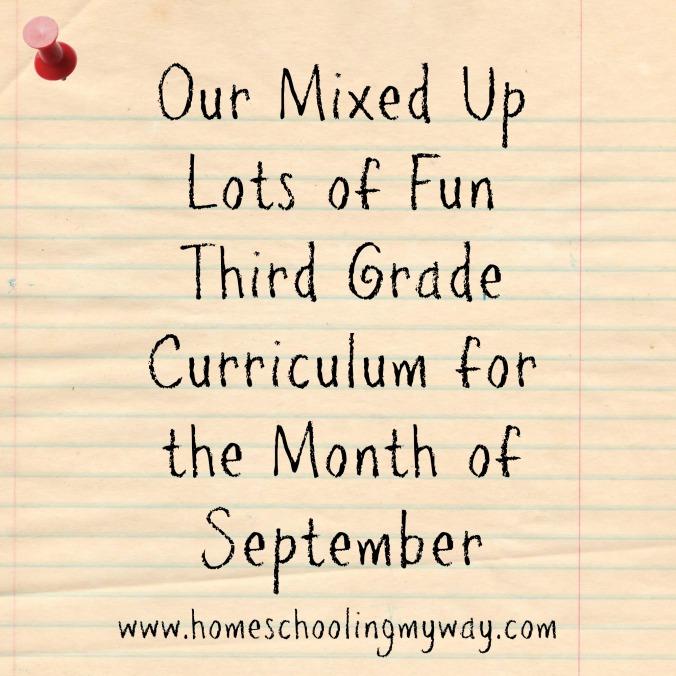 home school curriculum third grade