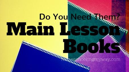 main lesson books do i need