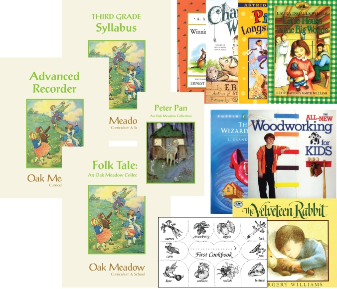 oak meadow waldorf home school curriculum