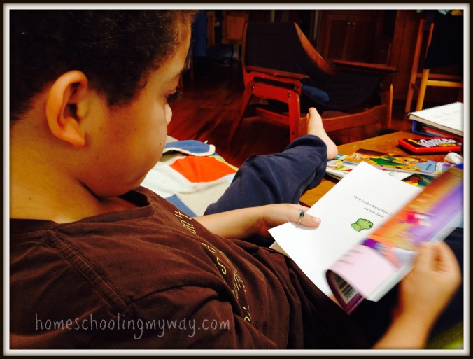 home school reluctant reader
